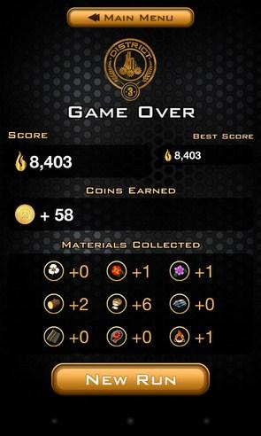 Hunger Games:Panem Run - раннер на Galaxy S4