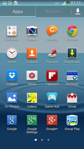 прошивка I9300XXUGMJ9 на Android 4.3 Jelly Bean для Galaxy S3 I9300
