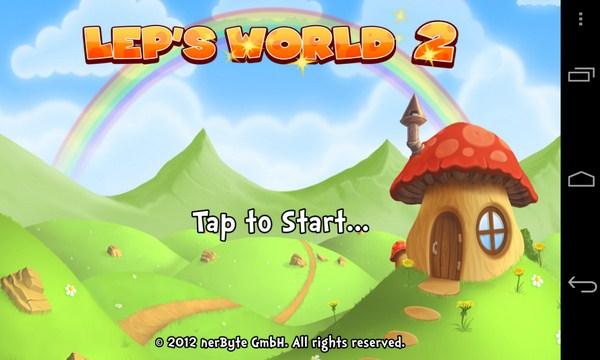Lep's World 2 - аркада на Samsug Galaxy S4