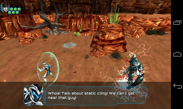 Max Steel- игра-аркада на смартфоны Android