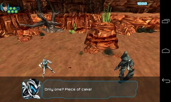 Max Steel- игра-аркада на Самсунг Галакси С4