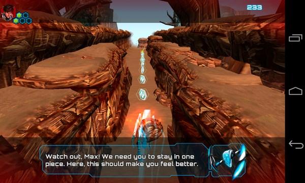Max Steel- игра-аркада на Galaxy S4