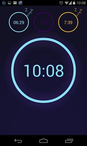 Neon Alarm Clock - будильник на Galaxy S4