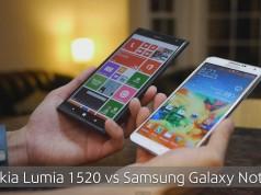 Сравнение: Nokia Lumia 1520 vs Samsung Galaxy Note 3