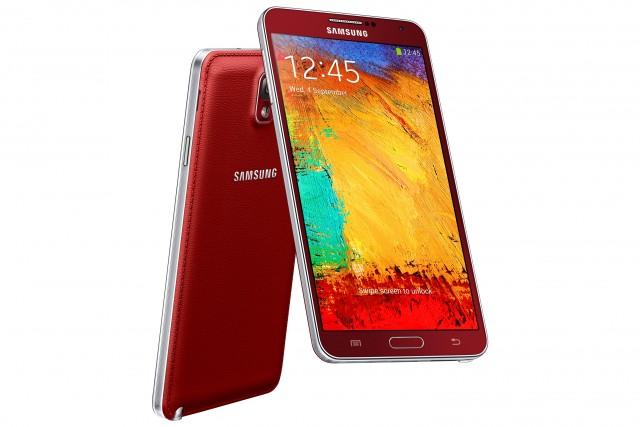 Красный Samsung Galaxy Note 3 N9005