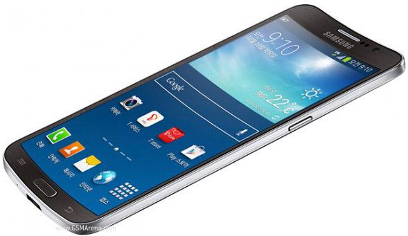 Samsung Galaxy Round - вид