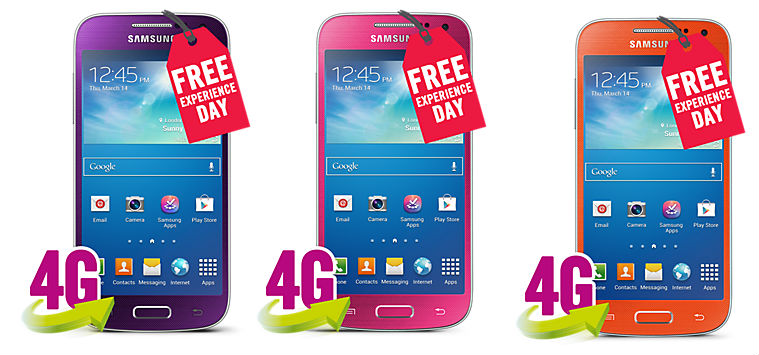 "3 ""Веселых"" цвета Galaxy S4 mini"