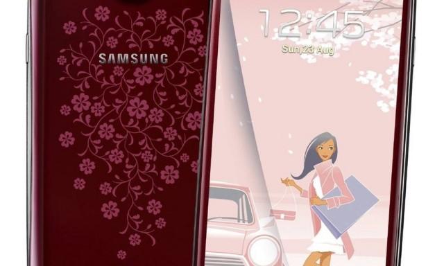 Samsung Galaxy S4 mini La Fleur Edition появится в январе