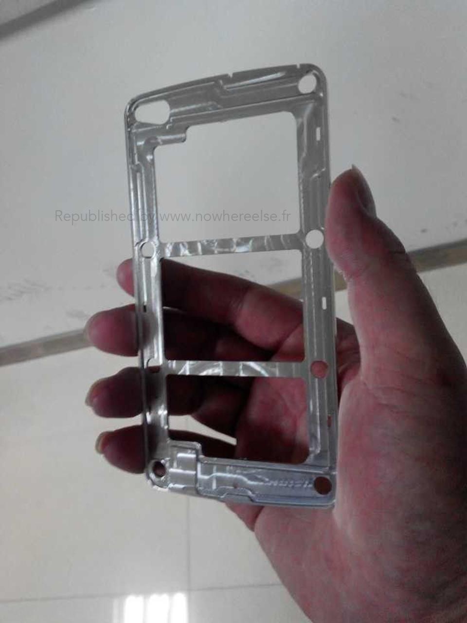Фотографии рамки Samsung Galaxy S5 попали в сеть