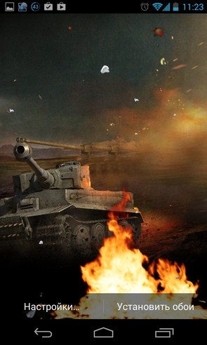 Stalingrad Live wallpaper - интерактивные обои на Samsung Galaxy S4