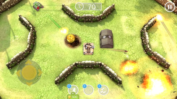 Tank Battles -  танчики на смартфоны Android