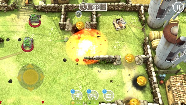 Tank Battles - игра в  танчики на смартфоны Андроид