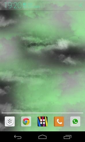 Thunder clouds Live Wallpaper - анимированные обои на Samsung Galaxy S4