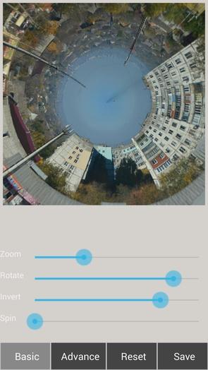 Фотопанорамы - Tiny Planet FX Pro