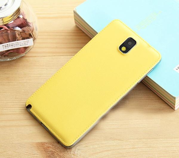 Панель желтого цвета для Galaxy Note 3