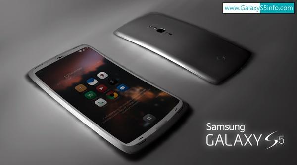 Внешний вид Galaxy S5 (концепт)