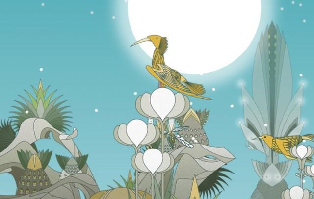Edena, garden spring - анимированные обои Galaxy S4