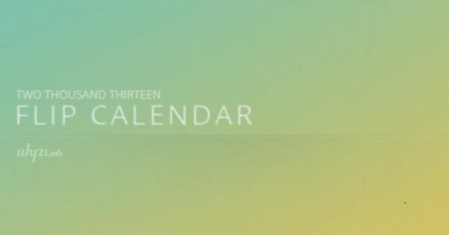 Flip Calendar + Widget - календарь на смартфоны Галакси С4