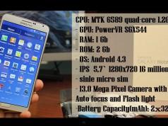 Китайский HDC Galaxy Note 3