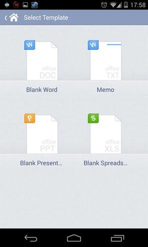 Kingsoft Office - программа на смартфоны Galaxy S4