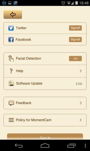 MomentCam - приложение на Самсунг Галакси С4
