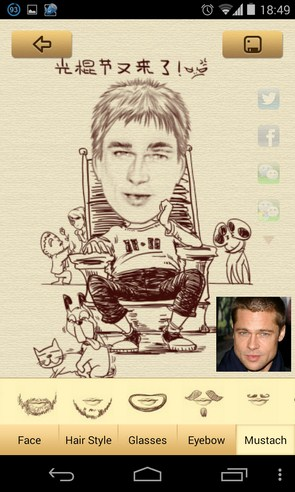 MomentCam - приложение на Android