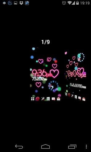 Neon Flow! - интерактивные обои на Galaxy S4
