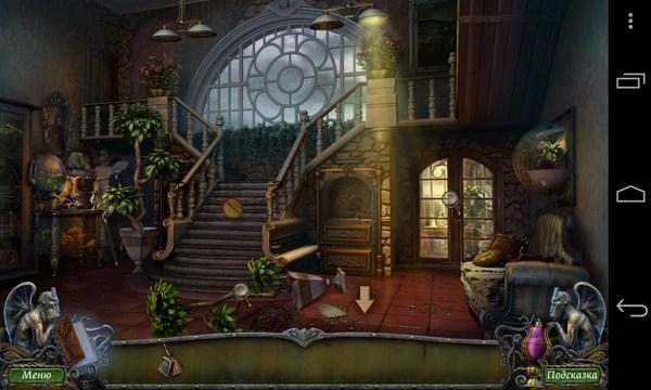 Остров оживших лиан - головоломка на Android