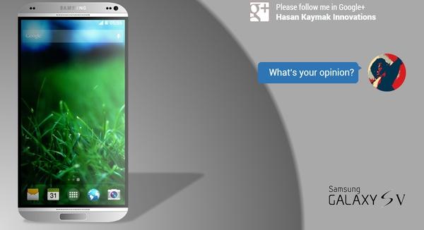 Новый концепт Samsung Galaxy S5