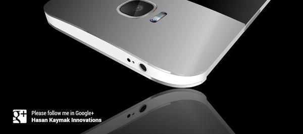 Задняя панель Samsung Galaxy S5 - концепт