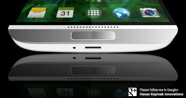 Нижняя панель Galaxy S5 - фото