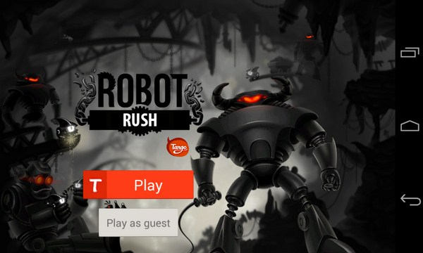 Robot Rush for Tango - игра на Galaxy S4