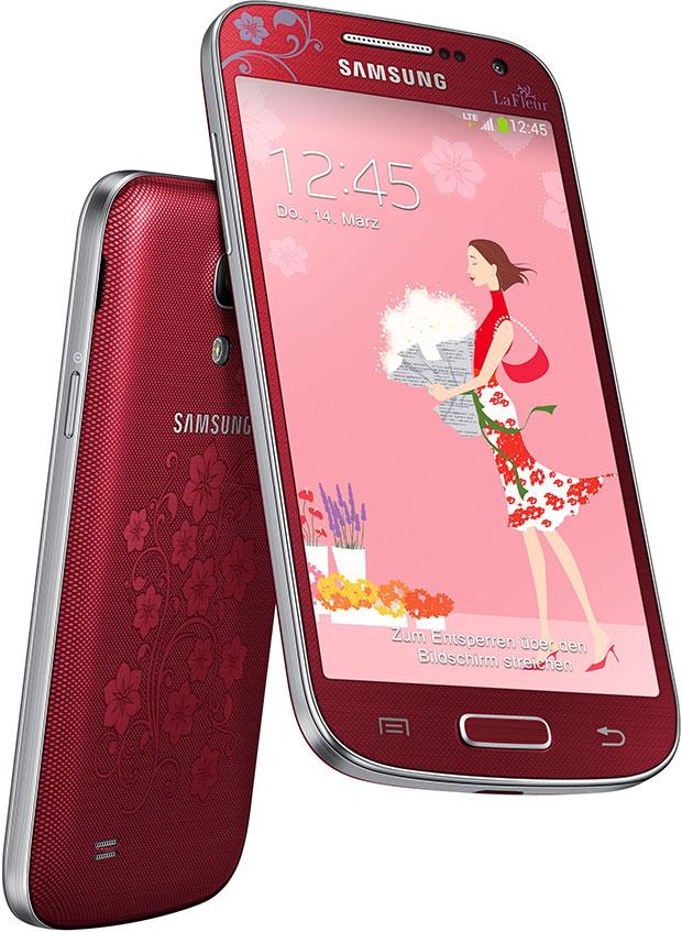 Galaxy S4 mini La Fleur edition