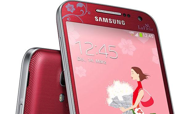 В Германии анонсирован Galaxy S4 mini La Fleur edition