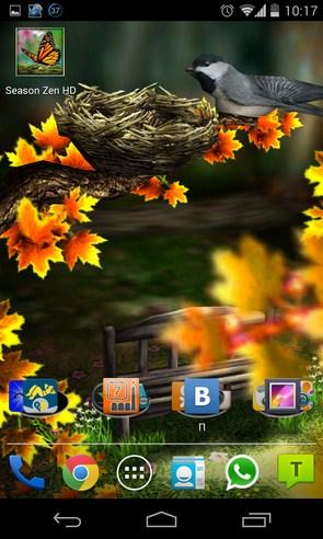 Season Zen HD - интерактивные обои на Samsung Galaxy S4