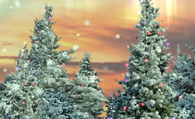 Snowfall Live Wallpaper - живые обои на Самсунг Галакси С4