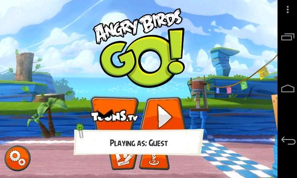 Angry Birds Go - гонки на Samsung Galaxy S4