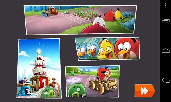 Angry Birds Go - гонки на Galaxy S4