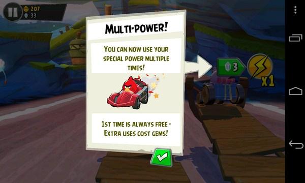 Angry Birds Go - гонки на смартфоны Самсунг Галакси С4