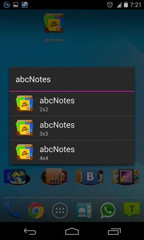 abcNotes - цветные заметки на Галакси С4