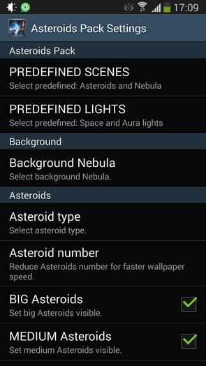 Asteroids Pack - дикий космос и астероиды