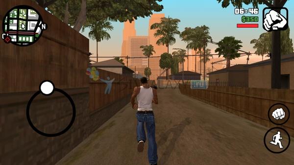 Grand Theft Auto: San Andreas - пробежка