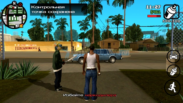 GTA: San Andreas для Samsung Galaxy S4 mini