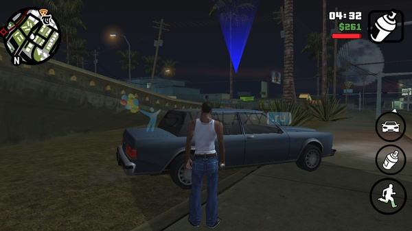 GTA: San Andreas для Samsung Galaxy Note 2