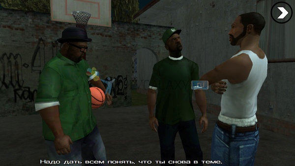 GTA: San Andreas для Samsung Galaxy Ace 3