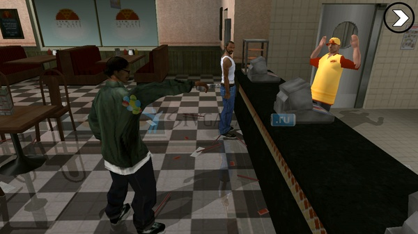GTA: San Andreas для Samsung Galaxy Note 3