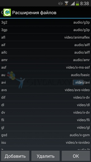 Конвертер видео на Galaxy S4