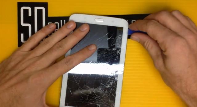 Как заменить дисплей на Samsung Galaxy Tab 3