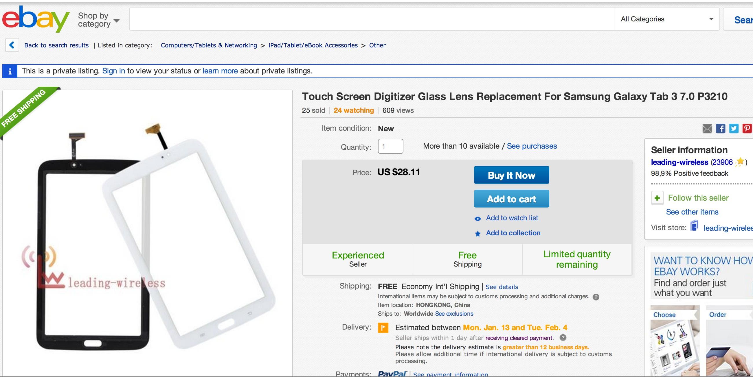 Как поменять стекло на Samsung Galaxy Tab 3