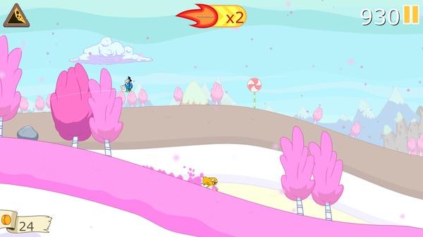 Ski Safari: Adventure Time - Финн и Джейк ждут вас